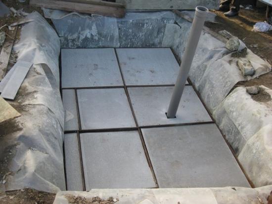 Construire fosa septica