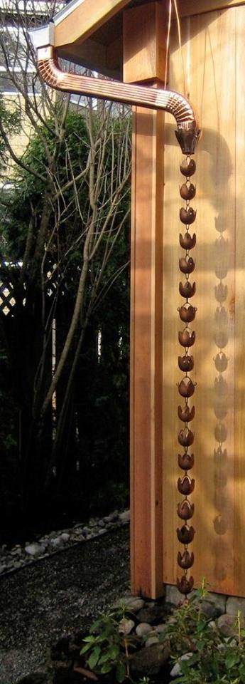 Sistem de scurgere elegant pentru acoperis