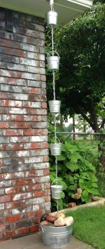 Sistem original de scurgere apa pluviala