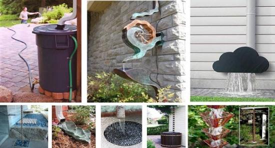 Sisteme de scurgere - jgheaburi si burlane decorative pe care le puteti face si pentru casa voastra