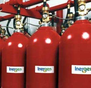 Sistem de stingere cu gaz inert Inergen