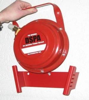Sistem de stingere foc cu pulbere de aerosoli