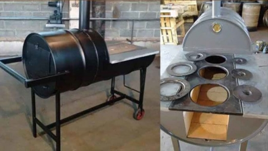 Iata cum poti construi o soba dintr-un butoi de tabla