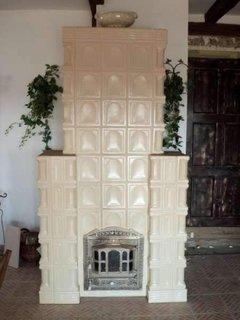 Model bizantin soba teracota