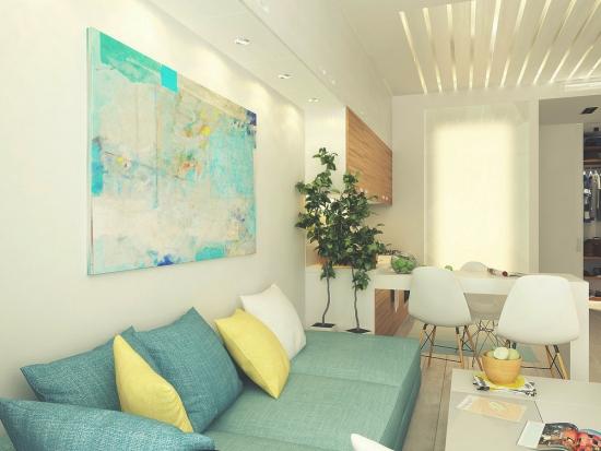 Apartament de 29 mp amenajat elegant