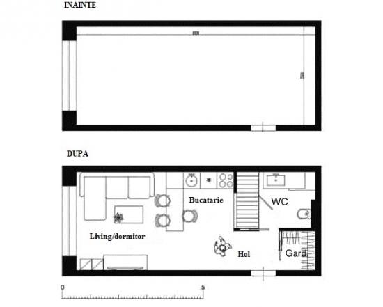 Plan schita apartament