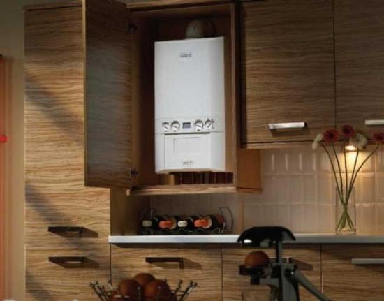 Idei mascare centrala termica instalata in bucatarie