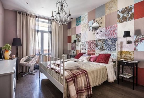 Iata peste 30 de solutii si idei de combinare a tapetului pentru dormitor