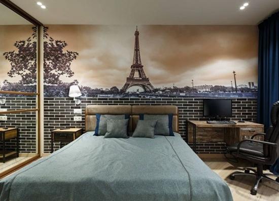 Fototapet in dormitor