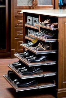 Rafturi culisante pantofi