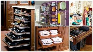 Solutii organizare garderoba