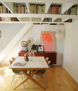 Biblioteca pentru carti tip loft