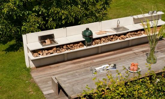 Inspiratie pentru o terasa cu bucatarie de vara