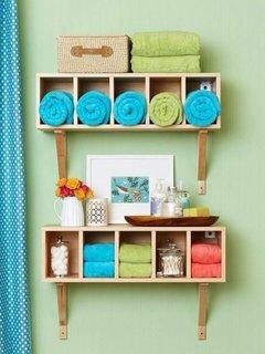 Organizare compacta pentru baie mica