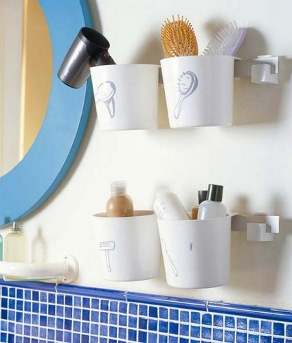 Organizatoare decorative pentru baie