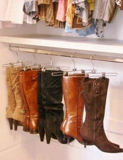 Idee pentru depozitarea cizmelor