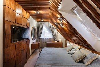 Camera ingusta la mansarda amenajare ca si dormitor