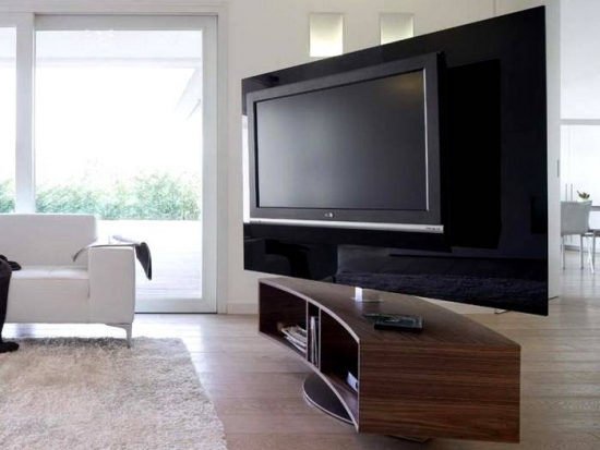 Comoda TV cu stand rotativ pentru TV