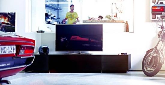 Comoda moderna televizor
