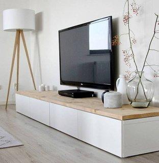 Comoda televizor cu sertare depozitare