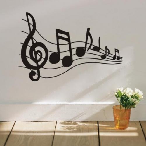 Note muzicale pentru decor perete