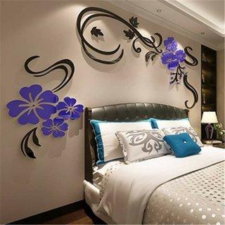 Sticker pentru perete cu efect 3D pentru dormitor