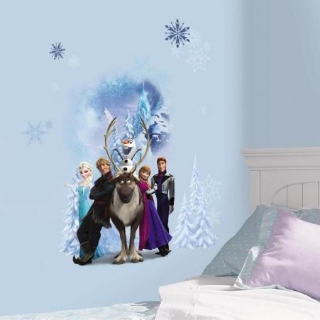 Sticker decorativ pentru copii cu imagine frozen