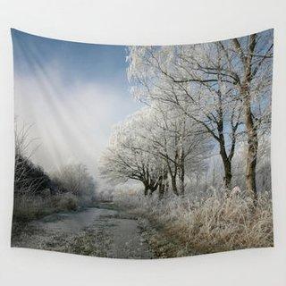 Stickere cu peisaj de iarna