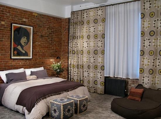Dormitor modern cu moblier putin
