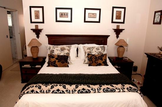Mobila de dormitor culoare wenge