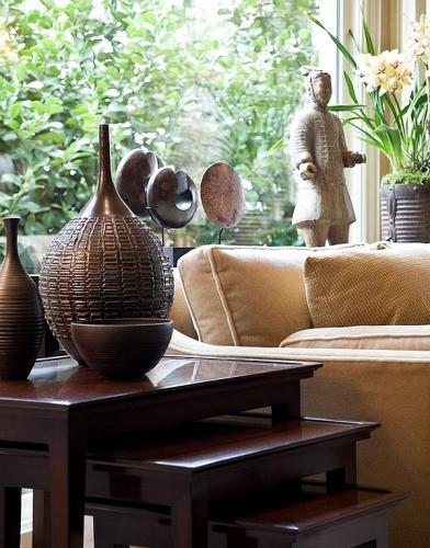 Vase din lemn africane