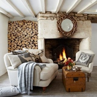 Design interior tipic cottage