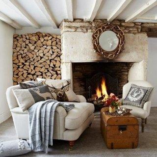 Design interior tipic cottage