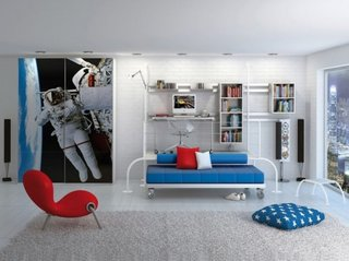 Camera pentru tineret cu sifonier imprimat digital