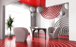 Design futurist pentru living
