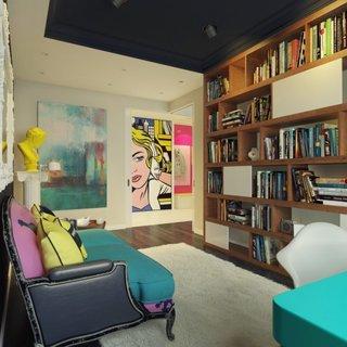 Varianta pentru amenajarea unui birou in stil pop art