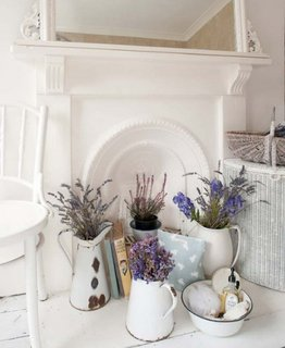 Decoratiuni simple in stil shabby chic
