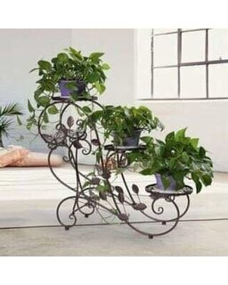 Model de etajera fier forjat pentru flori.jpg