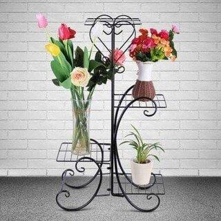 Suport fier forjat inimioara pentru flori.jpg