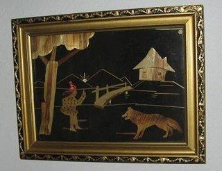 Decoratiuni interioare lucrate manual tablou pentru copii