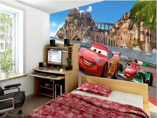 Tapet Cars camera copii