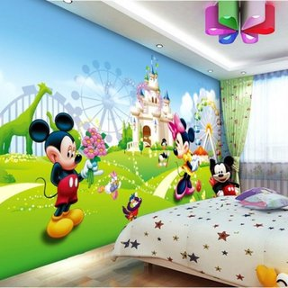 Tapet Mickey Mouse camera copii