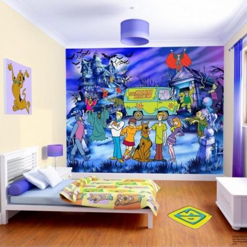 Tapet Scooby Doo camera copii