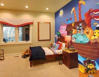 Tapet pentru dormitor copii
