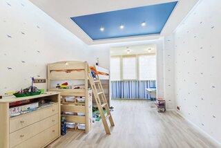 Tavan albastru extensibil camera copii
