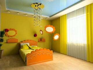 Tavan extensibil camera copii