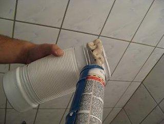 Obiecte sanitare  teava scurgere WC burduf