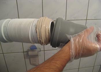 Obiecte sanitare teava scurgere WC burduf teava