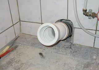 Obiecte sanitare teava scurgere WC gata