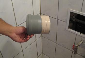 Obiecte sanitare teava scurgere WC noua